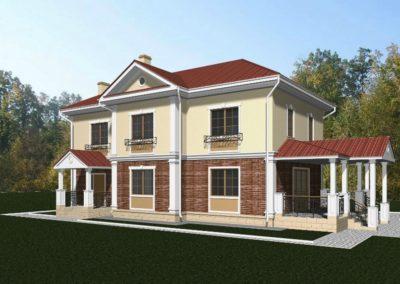 Индивидуальный жилой дом площадью 190,1 кв.м.