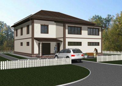 Индивидуальный жилой дом площадью 335,50 кв.м.