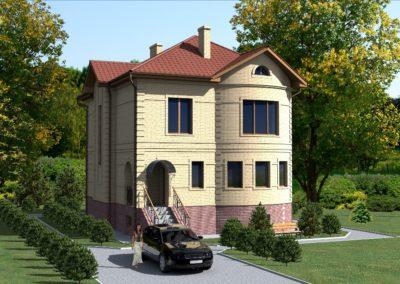 Индивидуальный жилой дом площадью 255,20 кв.м.