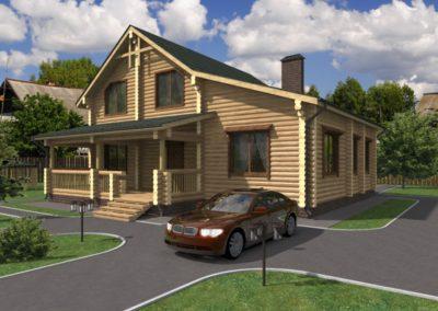 Индивидуальный жилой дом площадью 183,10 кв.м.
