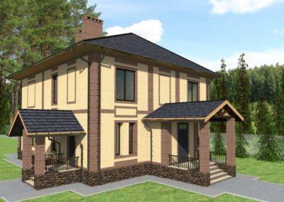 Индивидуальный жилой дом площадью 220 кв.м.
