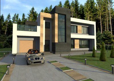 Индивидуальный жилой дом площадью 326,5 кв.м.