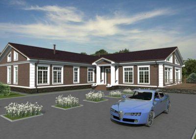 Индивидуальный жилой дом площадью 328,40 кв.м.