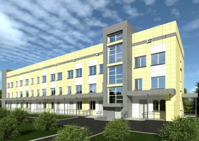 Проект капитального ремонта здания городской больницы