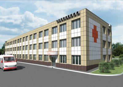 Разработка проекта капитального ремонта здания скорой помощи в г. Мытищи