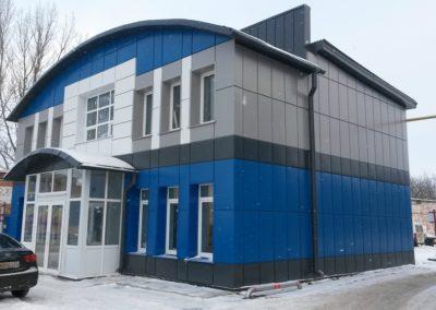 Проект реконструкции административного здания на территории производственного комплекса в г. Владимир.
