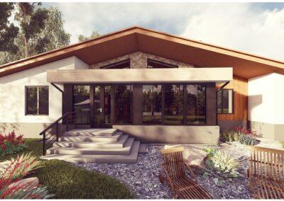 Индивидуальный жилой дом площадью 180,31 кв.м.